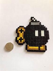 Pixel Art Bombe : bomba mario bros perler beads perler beads hama beads perler beads beads ~ Melissatoandfro.com Idées de Décoration