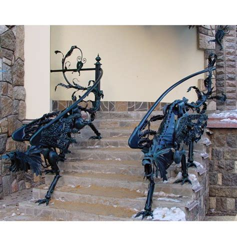 Dragon Railings