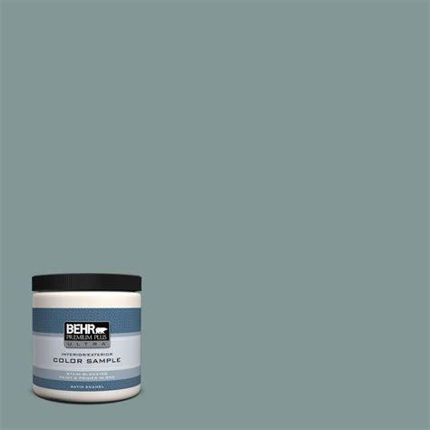 behr premium plus ultra 8 oz t18 in the moment satin enamel interior exterior paint sle