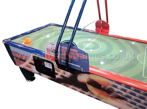 arcade quality air hockey table sam fast soccer commercial air hockey table 7 ft 8 ft