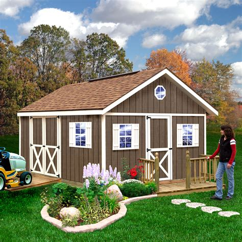storage shed kits sears searsfairview12x16lifestyle jpg