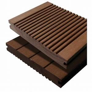 Terrasse Lame Composite : lame de terrasse en bois composite massif achat ~ Edinachiropracticcenter.com Idées de Décoration