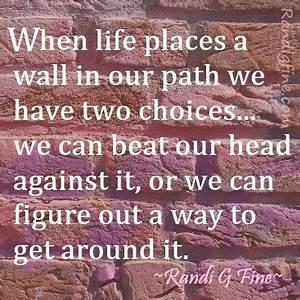 Overcoming Adversity Quote | Randi G. Fine