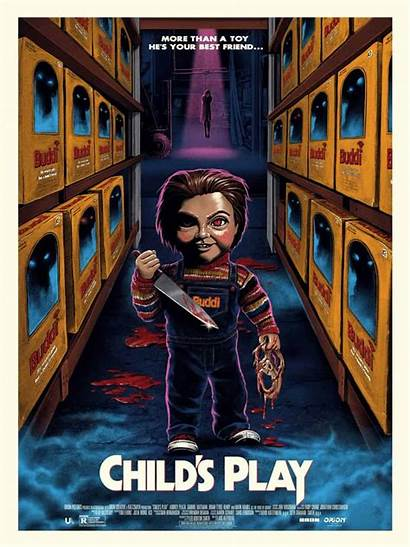 Play Gary Child Pullin Poster Ghoulish Childs