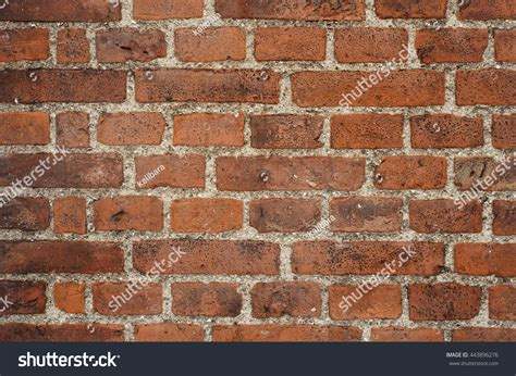 Perfect Composition Red Bricks Stock Photo 443896276