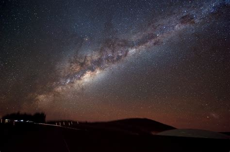 The Milky Way Shines On Paranal Eso