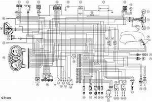 2008 Ducati Gt1000 Electrical System Wiring Diagram  58561