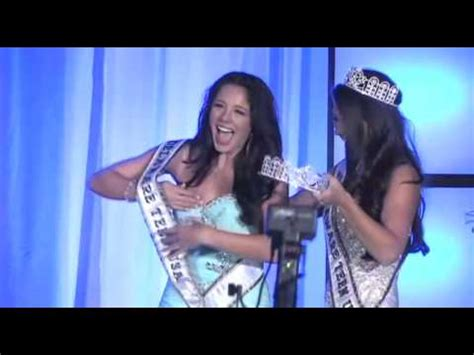 delaware teen usa crowning moment melissa king