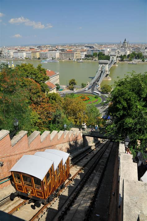 Funicular Palace Railway In Budapest Editorial Stock Photo ...