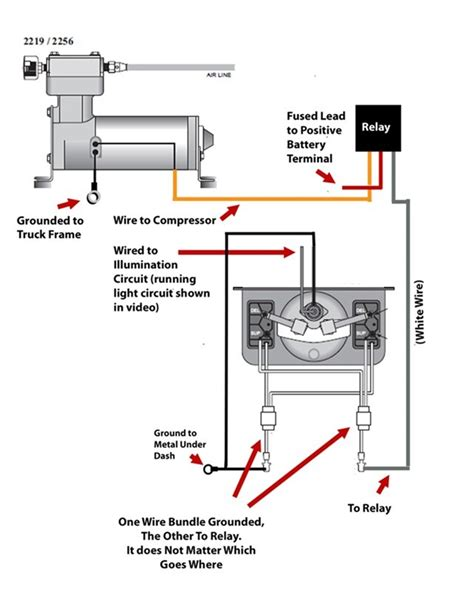 Wiring Diagram For Air Bag Suspension by Wiring Diagram For Firestone Level Command Ii On Board