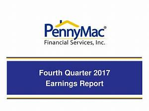 PennyMac Financial Services 2017 Q4 - Results - Earnings ...