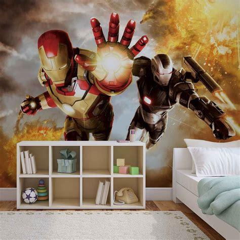 fotomural iron man marvel avengers papel pintado