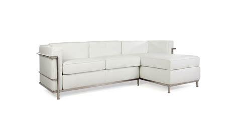 Le Corbusier Corner Sofa by Lc2 Le Corbusier Corner Sofa White
