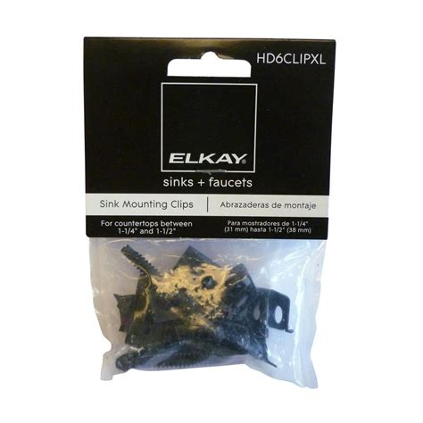 extra long kitchen sink installation clips elkay heavy duty long clips and screws bag of 6