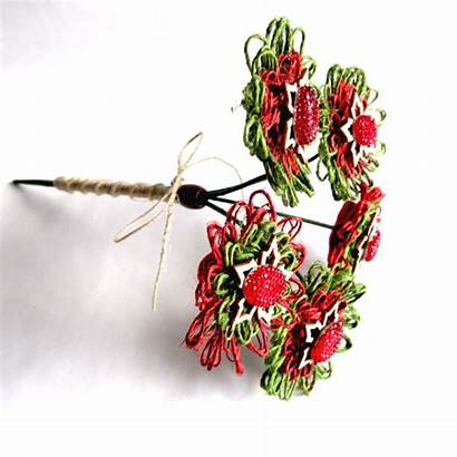 Christmas Floral Rustic Twine Vase Madeit Blossom