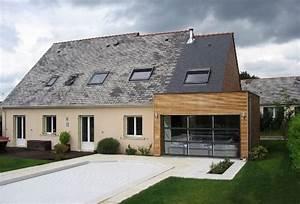 extension bois devis gratuit 5 devis gratuits5 devis With beautiful idee maison plain pied 5 renovation de maison agrandissement