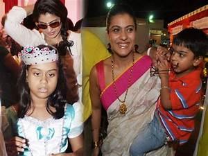 Kajol | Ajay Devgn | Celebrating | Son | Yug | Birthday ...