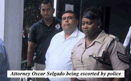 attorney oscar selgado  arraigned amandala newspaper