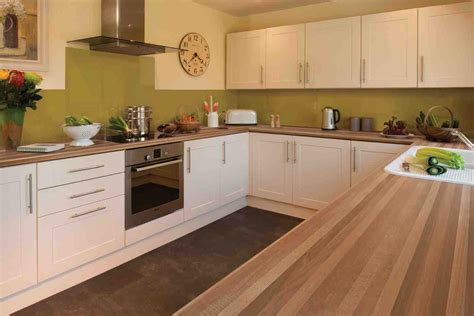 ideas for kitchen worktops kitchen design walnut worktop shaker gloss ideas