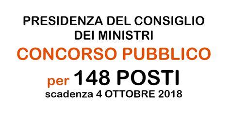 Presidenza Consiglio Dei Ministri Concorsi by Lavoro E Concorsi Pubblici Per Il Tag Laureato Workisjob
