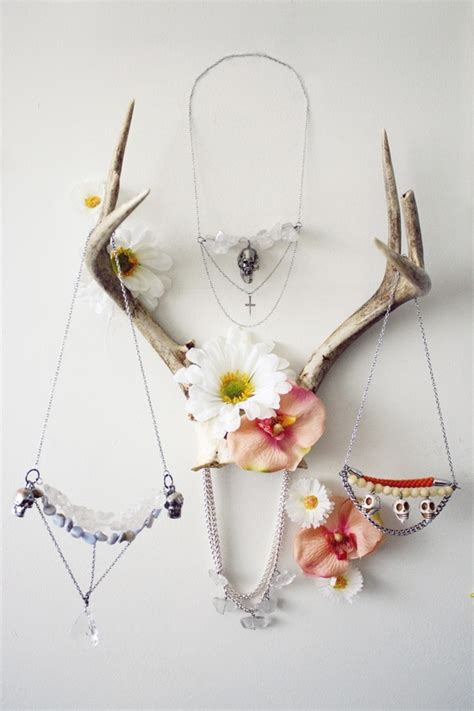 Ideas To Hang Towels In Bathroom by 10 Ways To Decorate With Antlers Megan Brooke Handmade