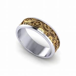 Mens Kinetic Wedding Ring Jewelry Designs