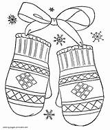 Coloring Winter Pages Preschool Sheet Scarf Clothes Printable Clothing Mittens Colouring Template Mitten Hat Mylifeuntethered Seasons Templates Clip Sweater Clipart sketch template