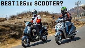Suzuki Access 125 Vs Honda Activa 125 Comparison Video