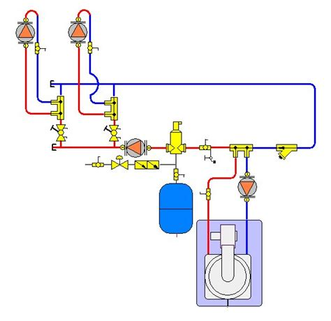 boiler set  primary secondary problem pictures  post