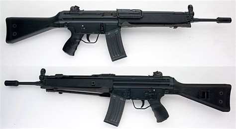 heckler koch hk    semiauto rifle  wbipod excellent condition  sale  gunauction
