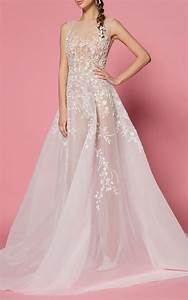 the most stunning see through wedding dresses whowhatwear With see through wedding dress pictures
