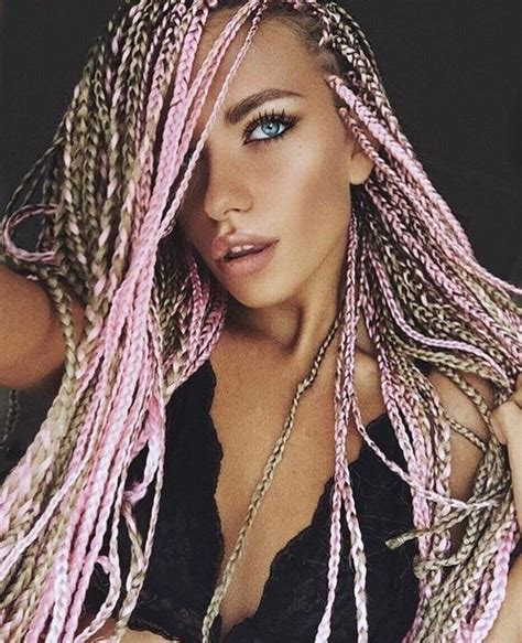 image result for box braids white girls box braids i