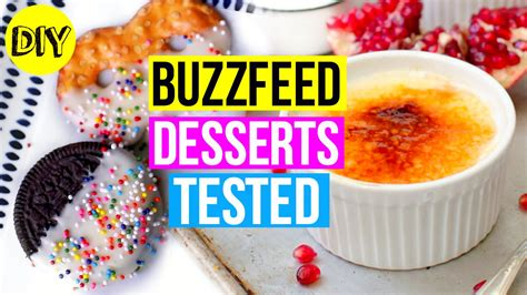 3 pi鐵es cuisine buzzfeed desserts tested diy 39 s day treats 2016