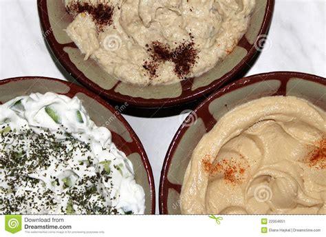 cuisine libanaise mezze traditional lebanese food stock image image 22004651