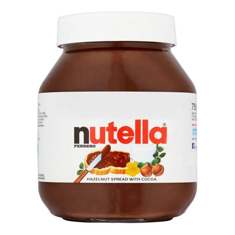 nutella 750g brockagh ltd