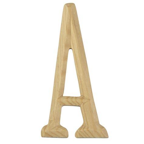 artminds carved wood letter
