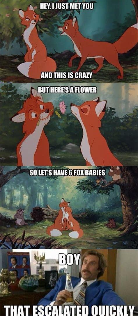 disney memes fox babies disney memes pinterest