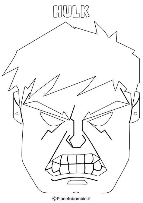 iron disegni da colorare per bambini maschere di supereroi da colorare per bambini