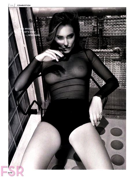 Hannah Davis See Through For Zink Magazine Your Daily Girl