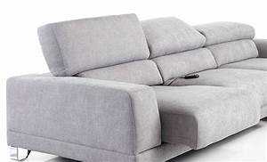 Canap Design 2 Places Tissu Personnalisable Relax