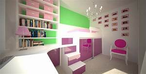 Kleines Kinderzimmer Ideen : kleine kinderzimmer gestalten decoraiton ~ Indierocktalk.com Haus und Dekorationen