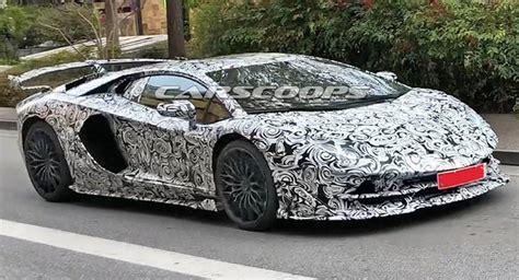 Lamborghini Aventador Sv Jota Spied, Could Have Around 800