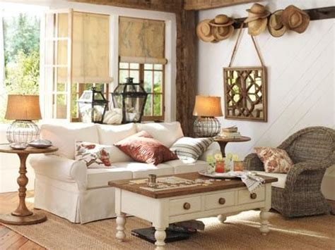 Pottery Barn Inspired Living Room by It Doesn T Fit