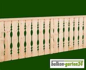 Balkonverkleidung Aus Holz : holzbalkon bausatz balkongel nder balkon holz ~ Lizthompson.info Haus und Dekorationen