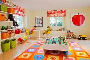 Colorful Kids Playroom Ideas