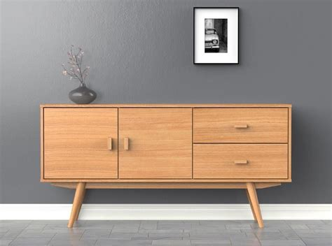Sideboard Skandinavisches Design by Scandi Sideboard Large Buffet Ash Scandinavian