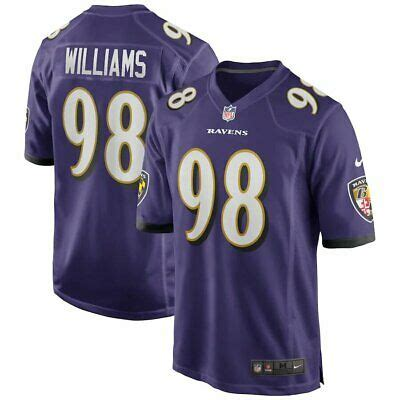 Brand New 2020 NFL Nike Baltimore Ravens Brandon Williams ...