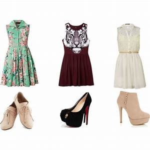 three cute outfits by jenny-618 on Polyvore featuring moda ...