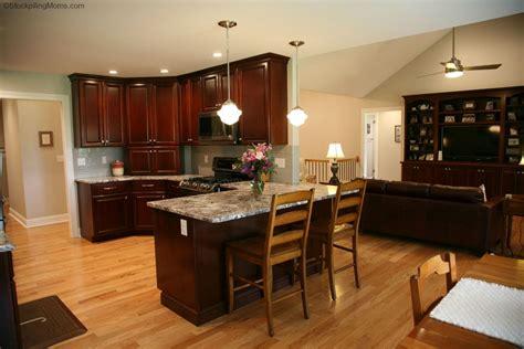 kitchen design dark cherry cabinets  black stainless