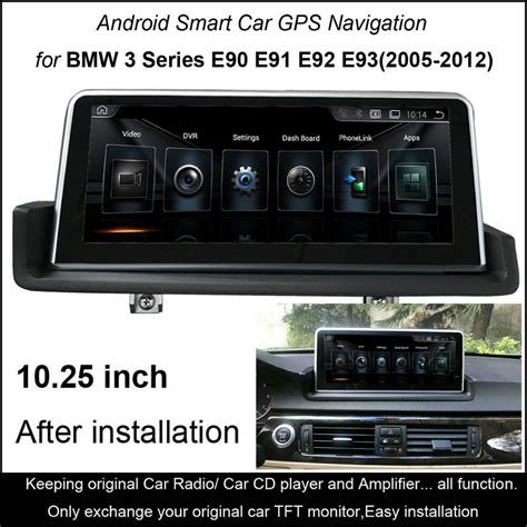 touch android car multimedia player  bmw  series